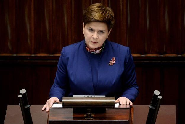 Beata Szydło - premier rządu /PAP