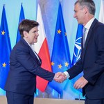 Beata Szydło spotka się w piątek z sekretarzem generalnym NATO