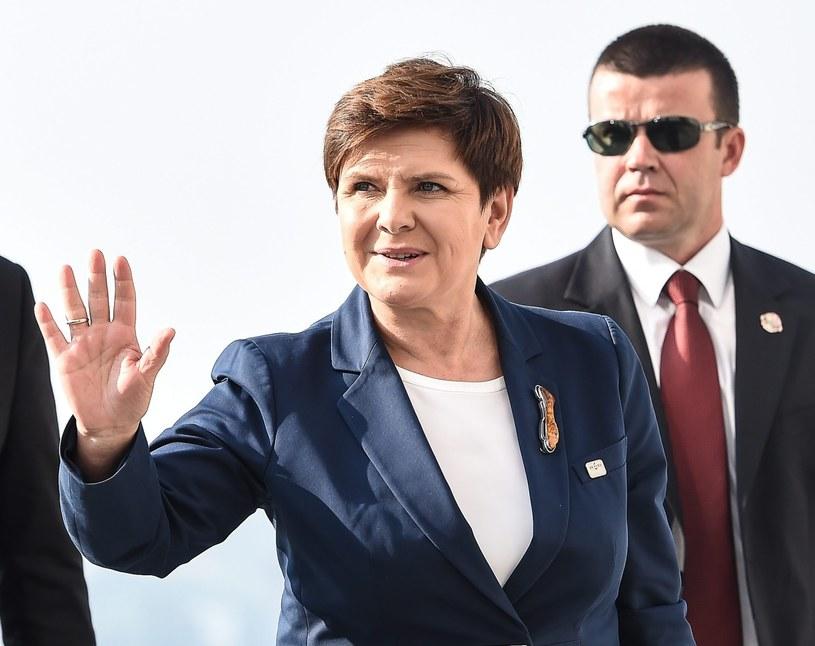 Beata Szydło w Bratysławie /PAP/EPA