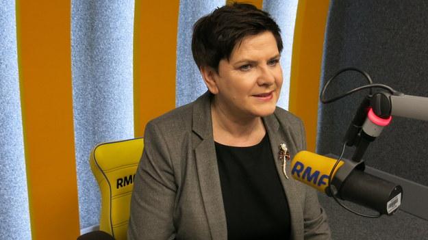 Beata Szydło w krakowskim studiu RMF FM /Jacek Skóra /RMF FM