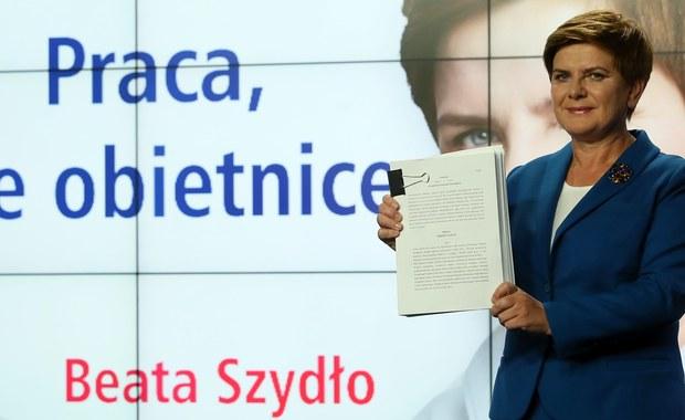Beata Szydło w nowym spocie: Praca, nie obietnice. Polacy czekają na konkrety