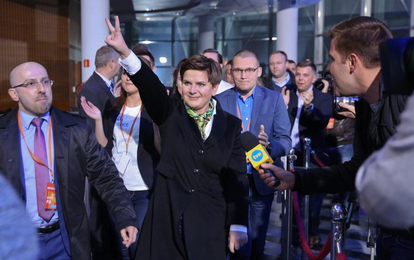 Beata Szydło w TVP /Marcin Obara /PAP