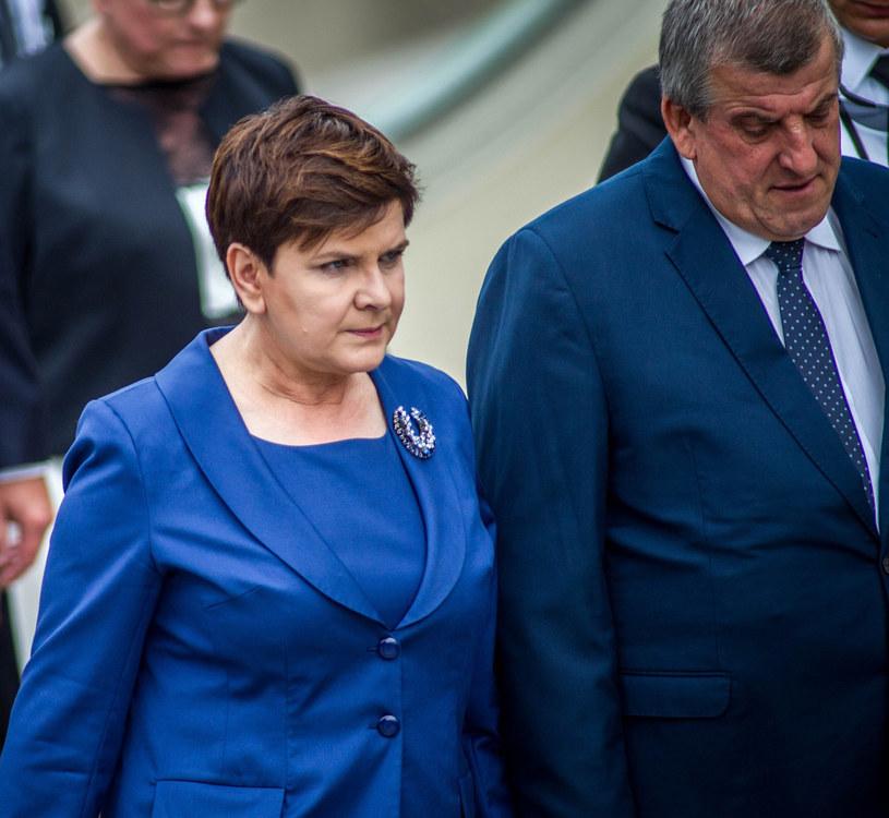 Beata Szydło z mężem Edwardem /MAREK BARCZYŃSKI /East News