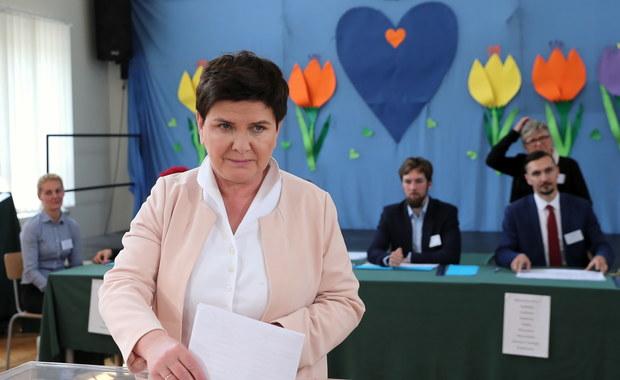 Beata Szydło z najlepszym wynikiem w kraju w eurowyborach