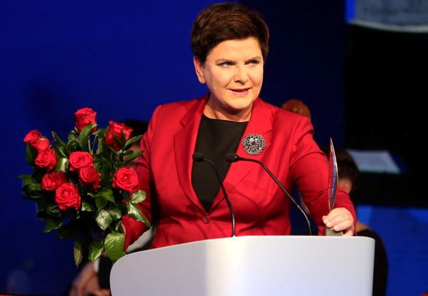 Beata Szydło została Człowiekiem roku XXVII Forum Ekonomicznego Krynica - Zdrój /Grzegorz Momot /PAP