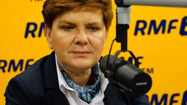 Beata Szydło /RMF