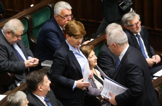 Beata Szydło /PAP/Paweł Supernak /PAP