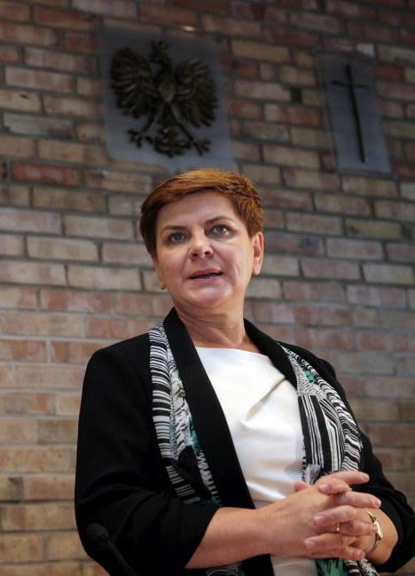 Beata Szydło /PAP/Andrzej Grygiel    /PAP