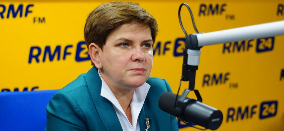 Beata Szydło /Michał Dukaczewski /RMF FM