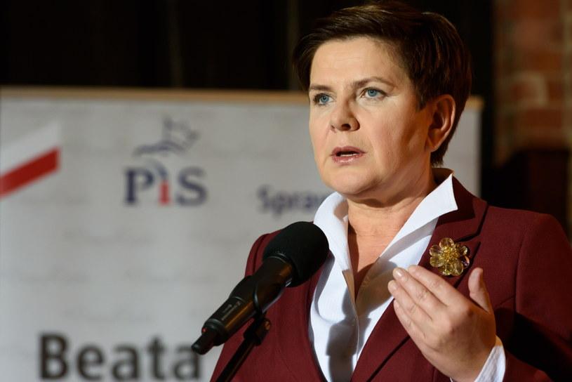 Beata Szydło /Jakub Kaczmarczyk /PAP
