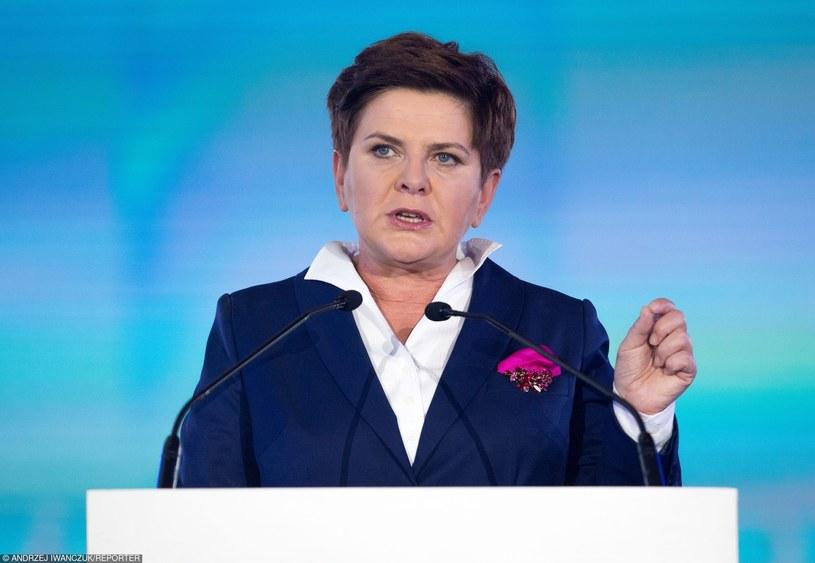 Beata Szydło /Andrzej Iwańczuk /Reporter