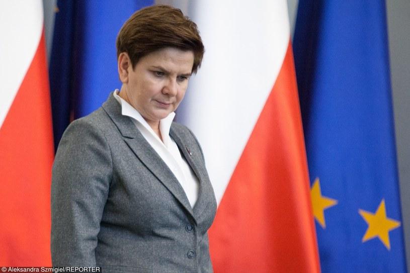 Beata Szydło /Aleksandra Szmigiel-Wiśniewska /Reporter