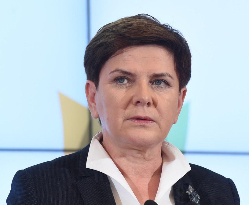 Beata Szydło /Radek Piertruszka /PAP