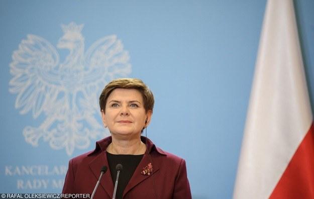 Beata Szydło /Rafał Oleksiewicz /Reporter