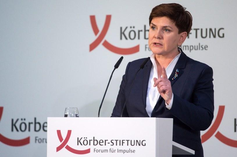 Beata Szydło /PAP/EPA
