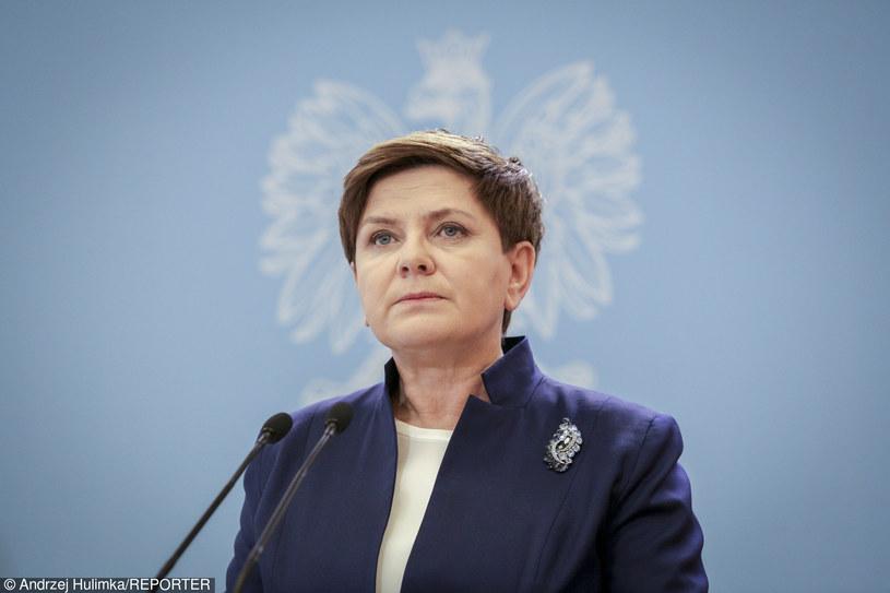 Beata Szydło /Andrzej Hulimka  /Reporter