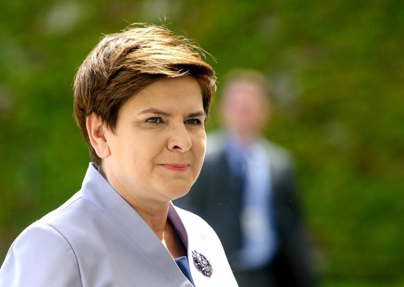 Beata Szydło /Rafal Oleksiewicz /Reporter