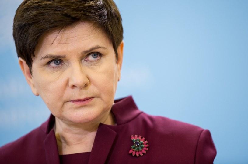Beata Szydło /Rafał Oleksiewcz /Reporter