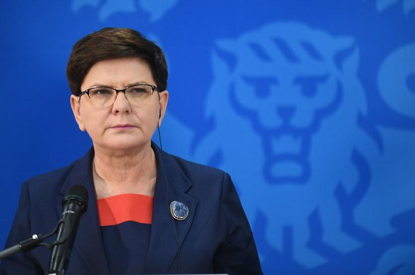 Beata Szydło /Bartłomiej Zborowski /PAP