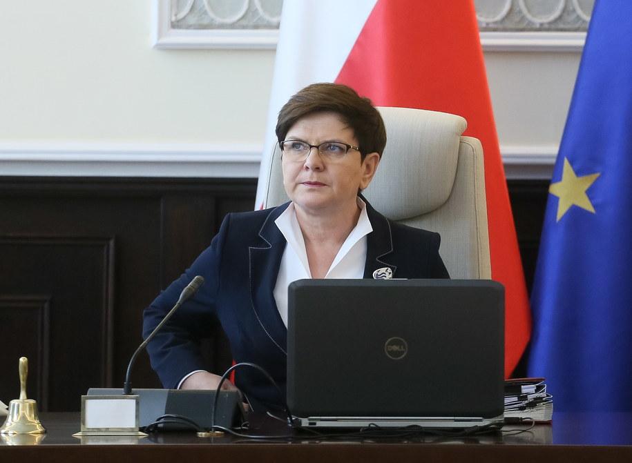 Beata Szydło /Paweł Supernak   /PAP