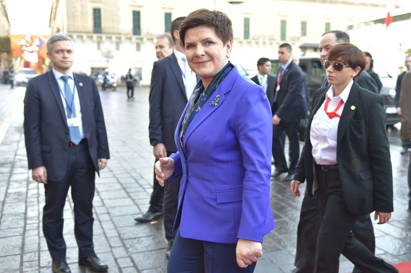 Beata Szydło /AFP