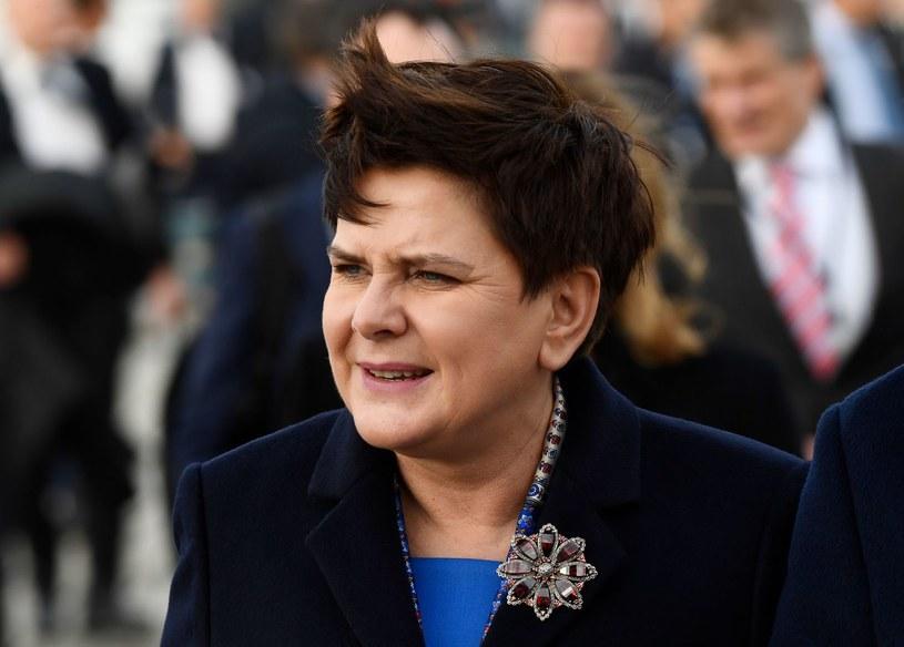 Beata Szydło /JONATHAN NACKSTRAND /AFP