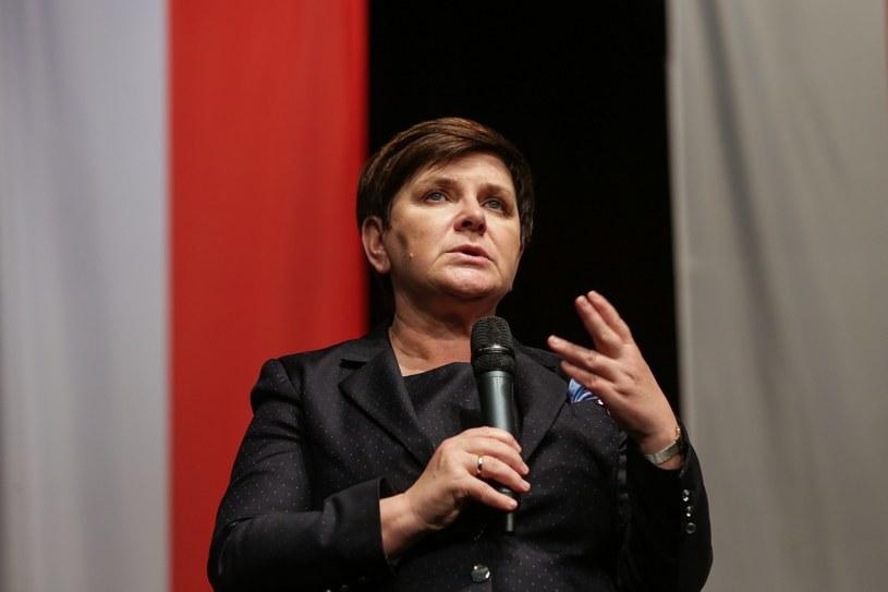 Beata Szydło /Dominik Gajda /Reporter