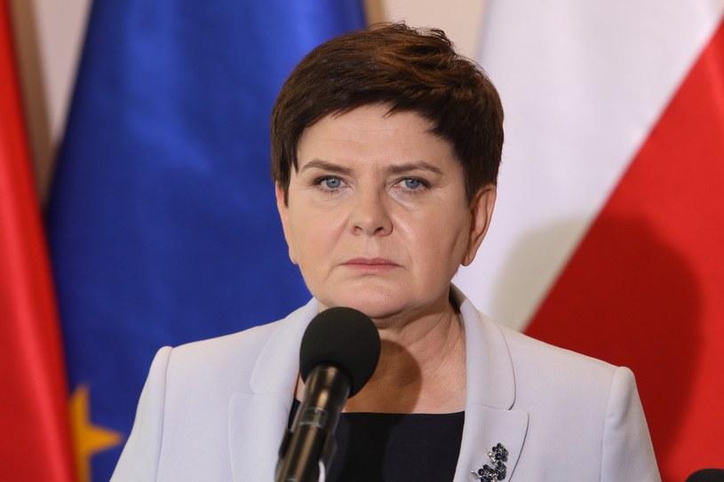 Beata Szydło /Fot Tomasz Jastrzebowski /Reporter