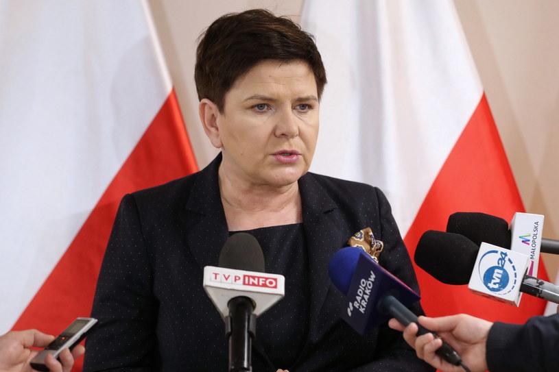 Beata Szydło / Grzegorz Momot    /PAP