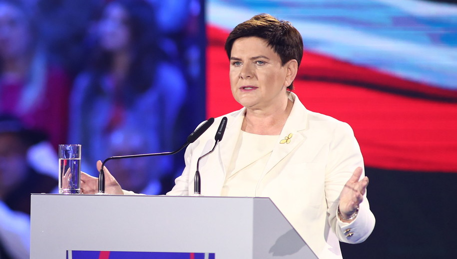 Beata Szydło //Łukasz Gągulski /PAP