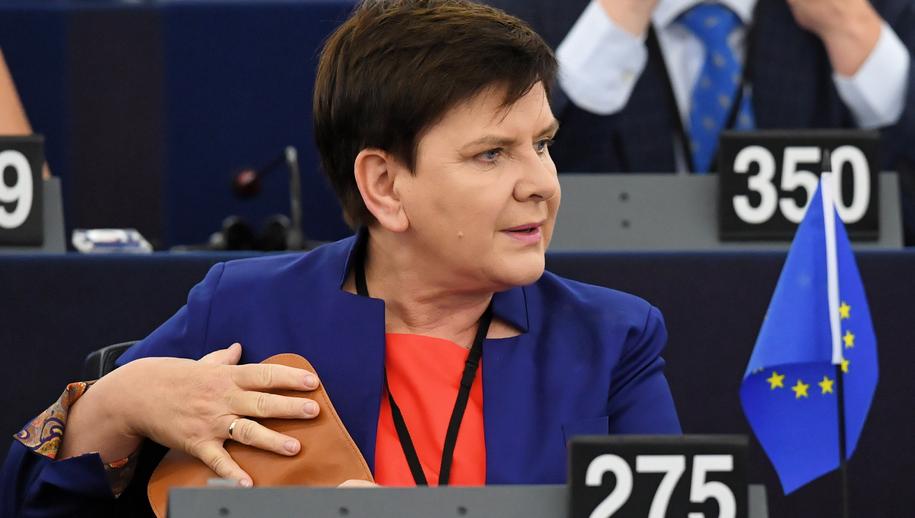 Beata Szydło / Radek Pietruszka   /PAP