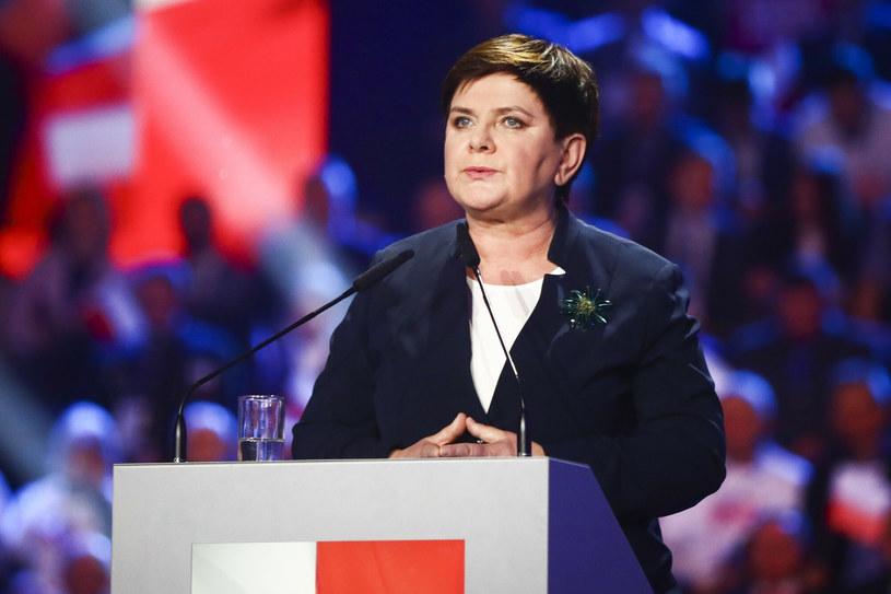 Beata Szydło /Beata Zawrzel/REPORTER /Reporter