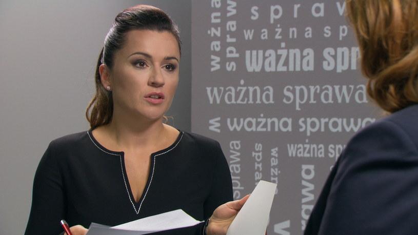 """Beata Tadla w """"Barwach szczęścia"""" /Agencja W. Impact"""