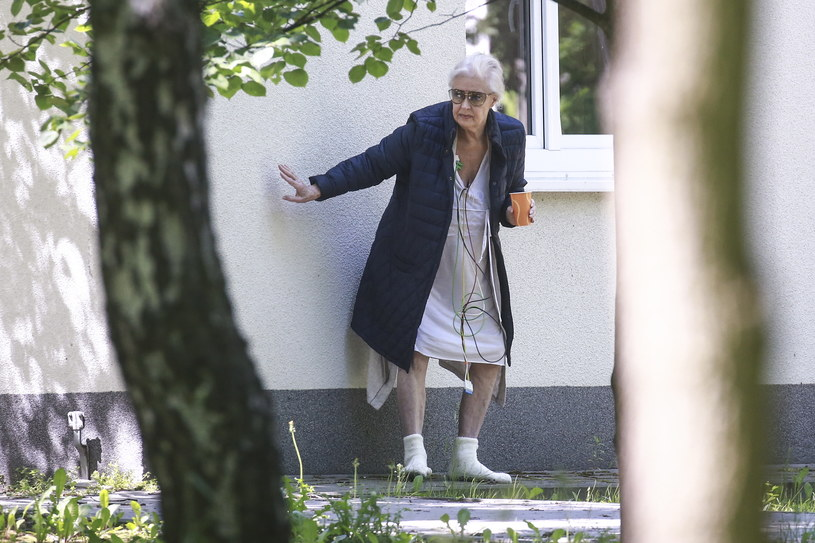 Beata Tyszkiewicz w maju zeszłego roku przeszła zawał serca /WOLF /Newspix