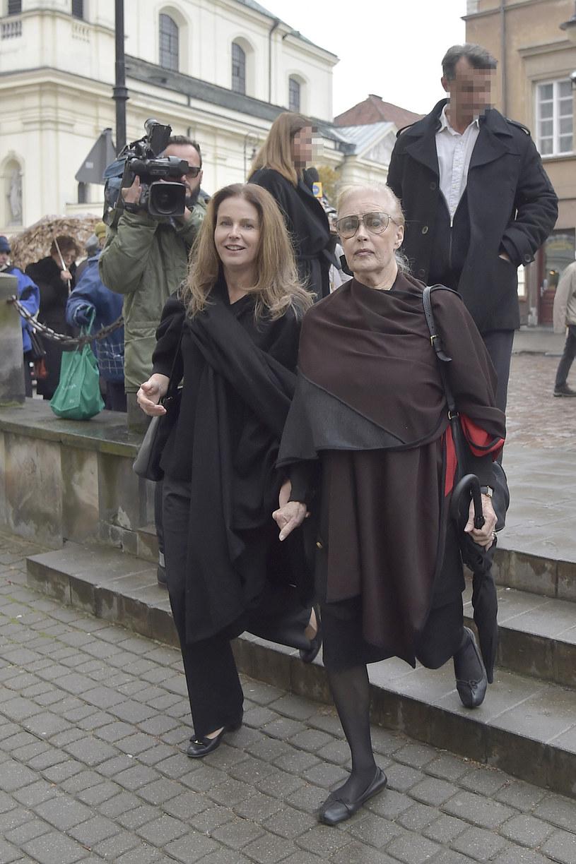 Beata Tyszkiewicz z córką Karoliną Wajdą /Niemiec /AKPA