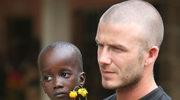 Beckham na rzecz dzieci z Afryki