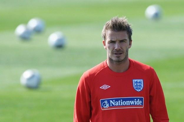 Beckham to fan samochodów /AFP