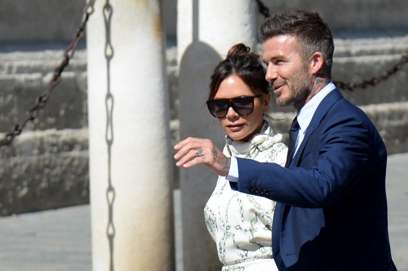 Beckhamowie spędzają mnóstwo czasu w swojej wiejskiej rezydencji w Cotswolds /CRISTINA QUICLER/ AFP /East News