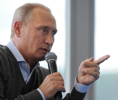Będą ponowne sankcje wobec Rosji. Putin apeluje o zdrowy rozsądek