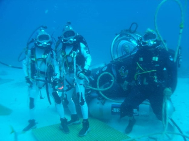 Będą testować pod wodą /NASA