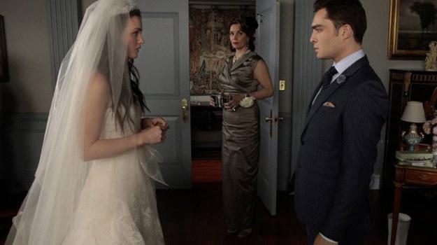 Będzie co najmniej jeden ślub! Wszyscy domyślają się, że Blair i Chuck zostaną małżeństwem... /CW Network/GIOVANNI RUFINO /materiały prasowe