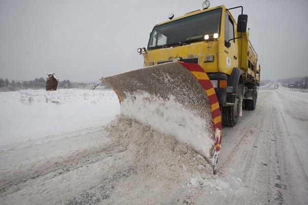 Będzie coraz wiecej śniegu /PAP/Michał Walczak /PAP