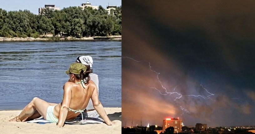 Będzie gorąco i burzowo/fot. A. Stawiński, Kuba Suszek /Reporter
