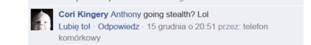 """""""Będzie niewwykrywalny? LOL"""" /Facebook /INTERIA.PL"""