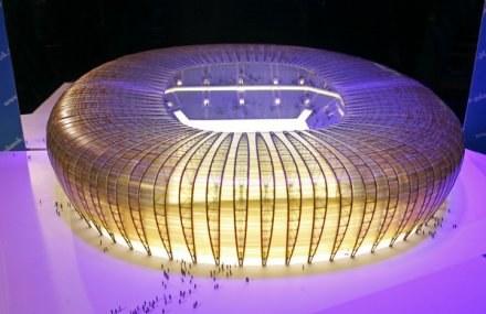 Będzie nowy projekt stadionu Baltic Arena /AFP