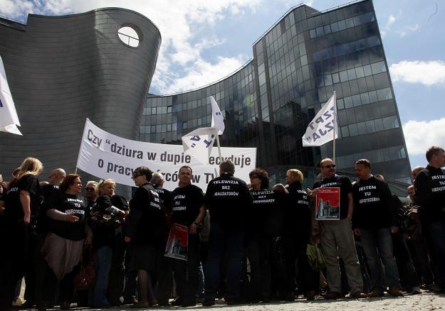 Będzie strajk pracowników TVP SA. Fot. Jacek Domiński /Reporter