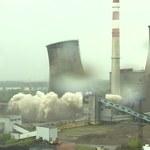 Będzin: Spektakularna detonacja chłodni elektrowni [WIDEO]