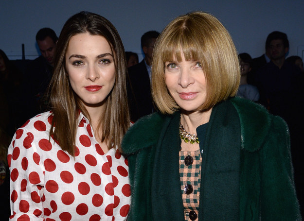 Bee Shaffer i Anna Wintour /Getty Images
