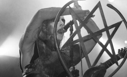 Behemoth na Brutal Assault fot. Anna Łowińska /INTERIA.PL