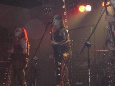 Behemoth na scenie w Poznaniu /INTERIA.PL